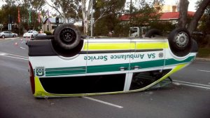 362141-ambulance-on-its-roof-at-north-adelaide
