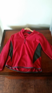 A light weight fleece jacket